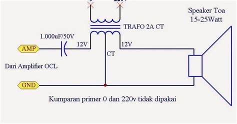 Trafo Matching Speaker Toa audio kreatif adapter antara lifier ocl dan speaker toa