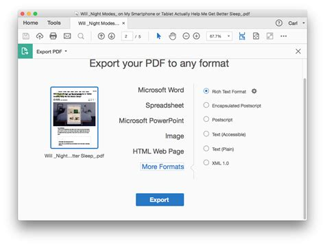 save microsoft word 2010 document as pdf and preserving inter
