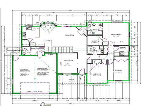 Free Houseplans | best free software to draw house plans free green house