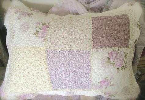 Lavender Patchwork Quilt - king single bed quilt bedspread lavender patchwork