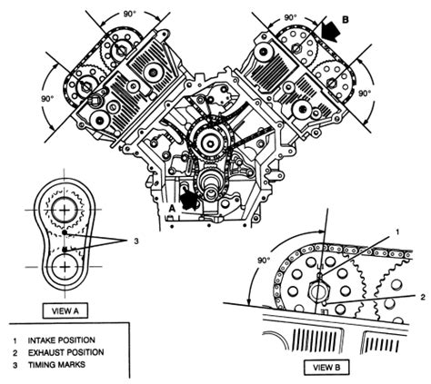 2010 hummer h3 timing chain marks installation 2007 hummer h3 3 7l fi dohc 5cyl repair guides engine