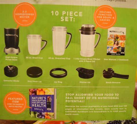 Nutribullet Rx Detox Juice by The Nutrisystem Bullet 7 Years Younger Diet Pdf