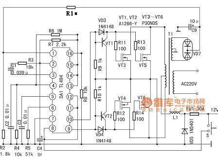 Tl494 Inverter Circuit by Power Supply Circuit Circuit Diagram Seekic