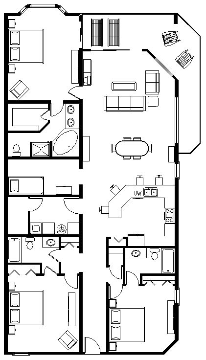 tidewater resort floor plans tidewater floor plans a d
