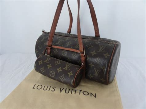 Tas Papillon Original 1975jt New louis vuitton set model papillon big small bag