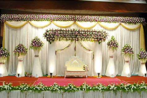 Wedding Flowers And Decorations by Best Wedding Stage Decoration Idea For Indian Weddings