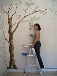 How To Paint Mural On Wall 25 Best Images About Tree Wall Painting On Pinterest