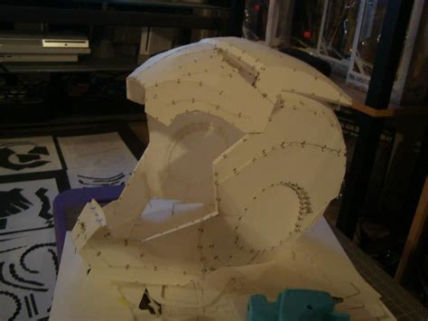 How To Make A Helmet Out Of Paper Mache - stealth iron w motorized faceplate tutorial