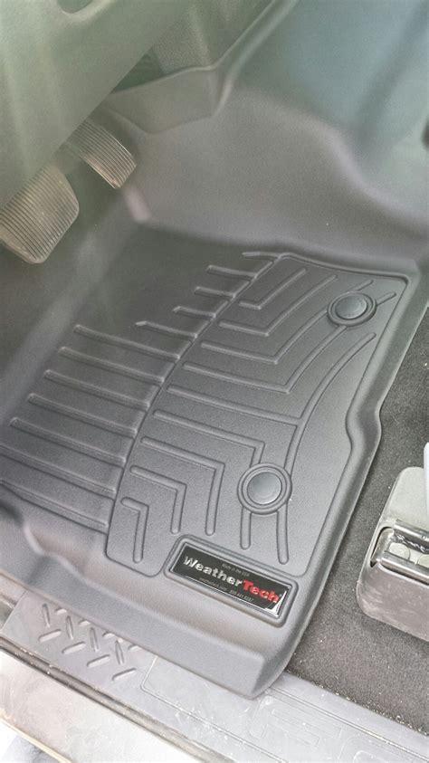 Weathertech Digital Fit Floor Mats by 2009 2014 F150 Supercrew Weathertech Front Rear Digital Fit Floor Mats Black