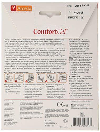 ameda comfort gel pads ameda comfortgel hydrogel pads the vitamin mall