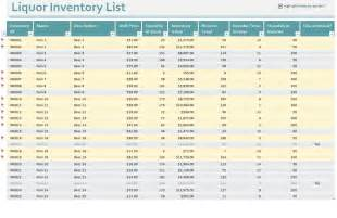 inventory templates free inventory templates