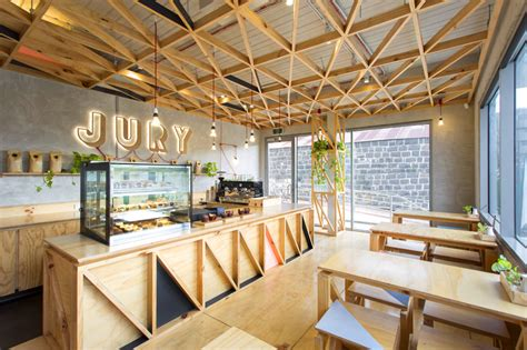 home decor stores australia jury cafe by biasol design studio constructed from a mix