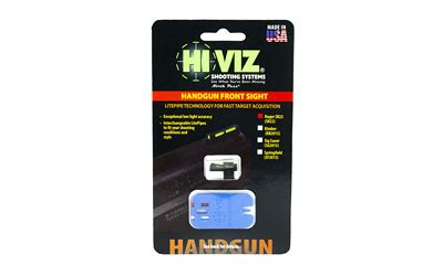 hi viz litewave sight, fits ruger sr22, front sight