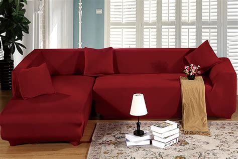 c shaped sectional sofa cover 2seats 3seats printing stretch sofa slip covers fit l