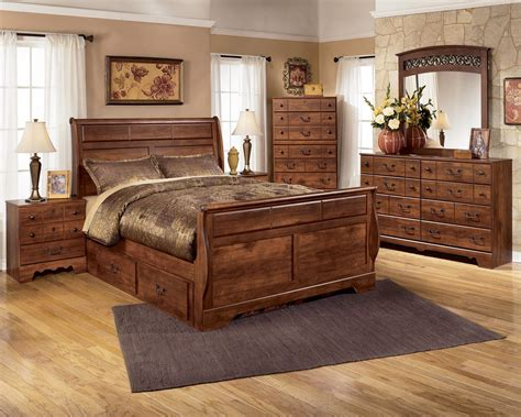 signature design bedroom furniture signature design by ashley timberline 4 piece queen with