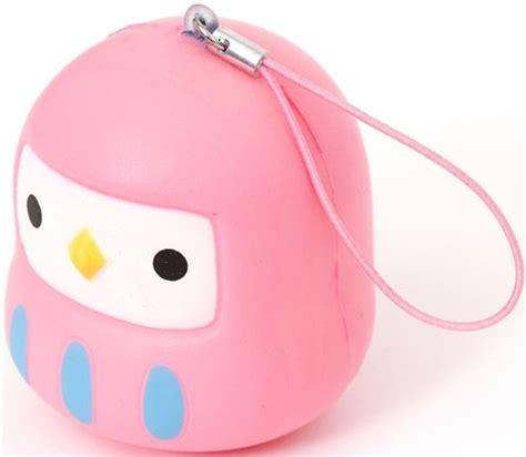 Squishy Owl Slowres pink bird squishy cellphone charm food squishies squishies shop modes4u