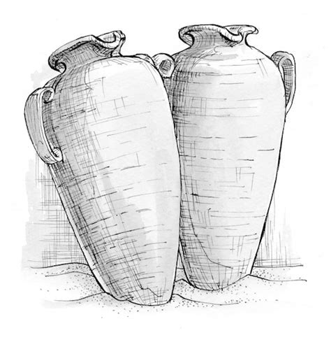 Wedding At Cana Discussion Questions by 2 1 12 Illustration Jars Of Wine S Press