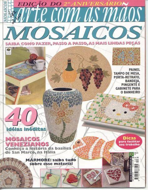 decoupage magazine revista de mosaicos revistas variadas