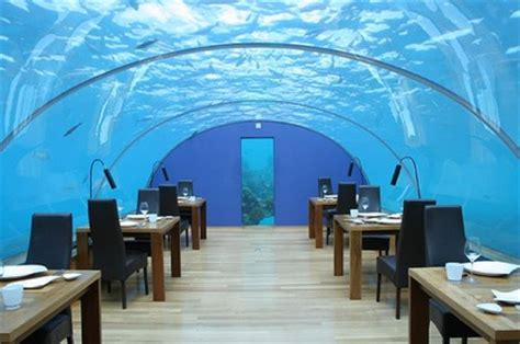 Asian Homes by Hilton Maldives Offering Underwater Sleeping Fashion