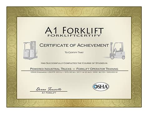 free forklift certification card template a 1 forklift certification courses osha