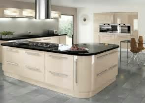 Cream Gloss Kitchen Ideas Mastercraft Kitchens Custom Built Fitted Kitchens