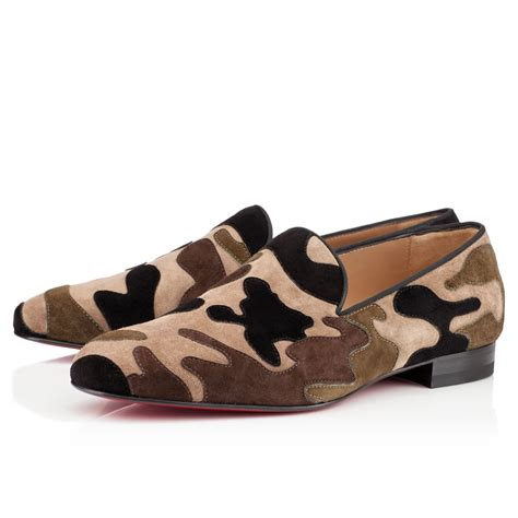 you loafers christian louboutin mercenaire loafers camouflage