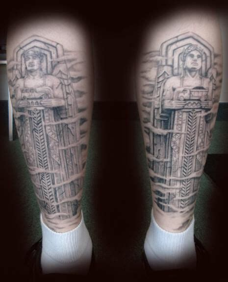 tattoo in london ontario statues from clevelands lorain carnegie bridge tattoos