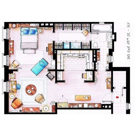 carrie bradshaw s apartment layout 199 best sex and the city favorites images on pinterest