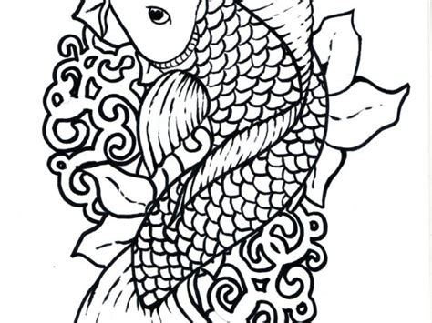 printable coloring pages koi fish japanese koi fish coloring pages free coloring pages for