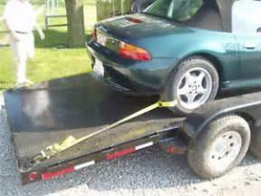 Trailer Tire Straps One Car Trailer Tie Set Ratchet Wheel Tire