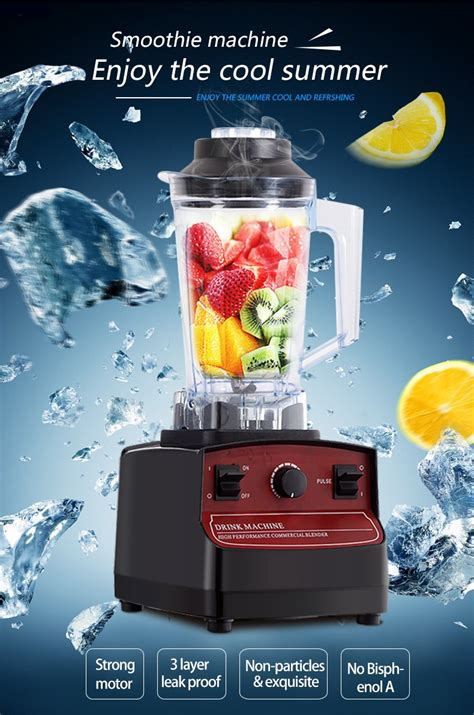 Electric Multi Mixer Hs 389 26000rpm high speed blender electric smoothie fruit