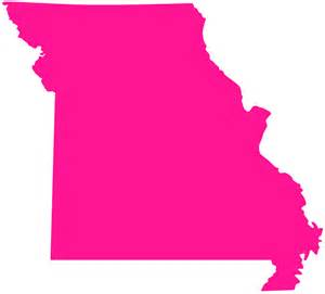 missouri map outline missouri map silhouette free vector silhouettes
