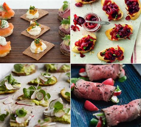 the best christmas canap 233 recipes for your festive gathering