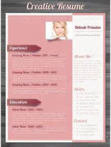 Unique Resume Templates by Creative Resume Template 81 Free Sles Exles Format Free Premium Templates