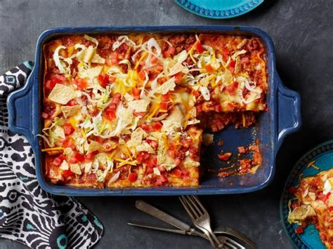 taco lasagna recipe food network kitchen food network