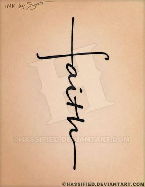 cross faith tattoo faith cross by hassified on deviantart
