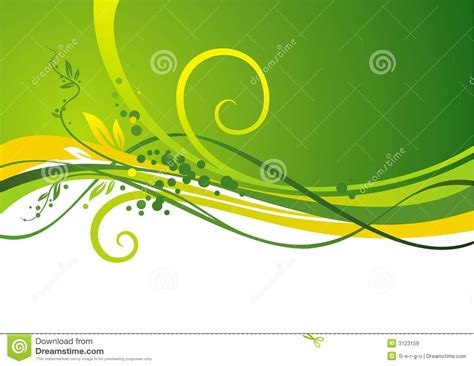 green plans yellow green design royalty free stock images image 3123159