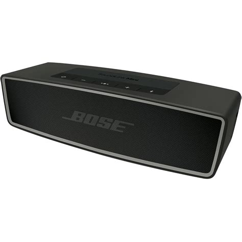 Bose Soundlink Bluetooth Speaker bose soundlink mini bluetooth speaker ii carbon 725192 1110