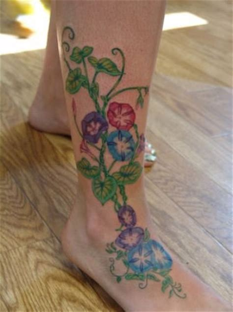 tattoo pictures of vines and flowers beautiful vine tattoo