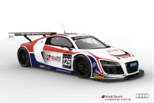 Audi R8 Racing Seven Audi R8 Lms Ultra Race Cars To Tackle 2013 Spa 24 Hours
