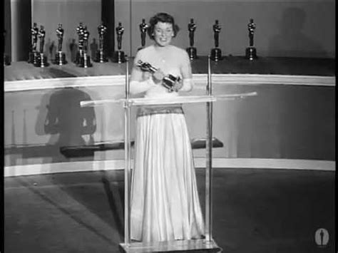Mercedes mccambridge winning oscar for quot all the king s men quot youtube