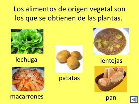 imagenes de origen animal vegetal y mineral alimentos de origen vegetal con sus nombres imagui