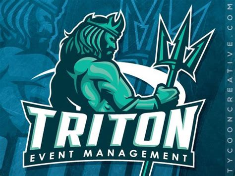 design event management triton event management on behance american logo sport