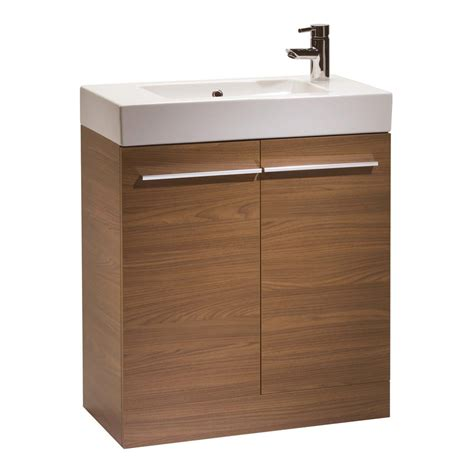Bathroom Furniture Suppliers Tavistock 700mm Walnut Floorstanding Unit And Basin K70faw K70c