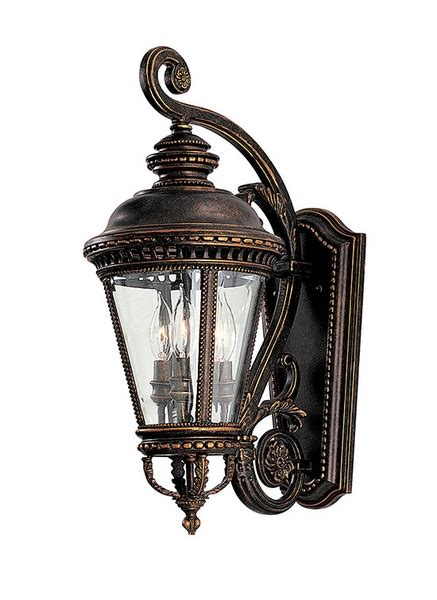 murray feiss light fixtures murray feiss castle 22 5 quot exterior wall lighting fixture