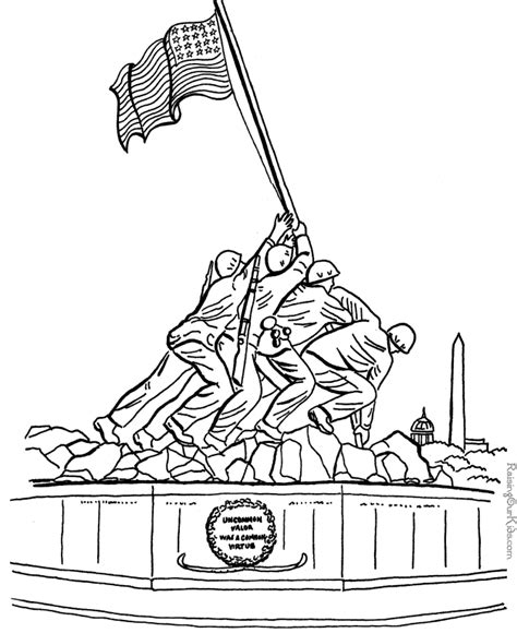 patriotic coloring pages 004