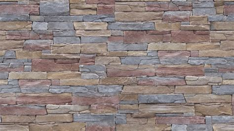 exterior wall design stone wall colourful rough stone wall image and