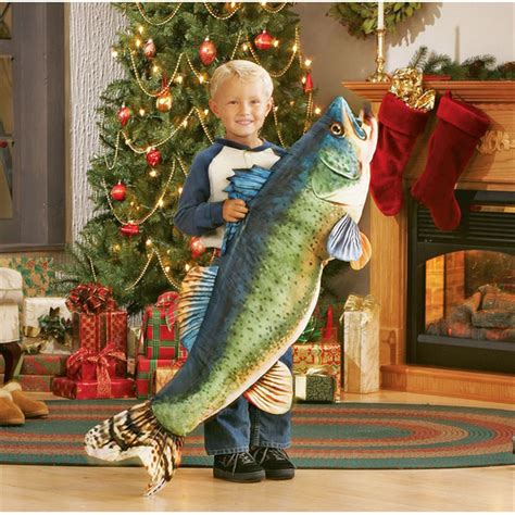 Stuffed Fish Pillow by Stuffed Fish Pillow 84592 At Sportsman S Guide