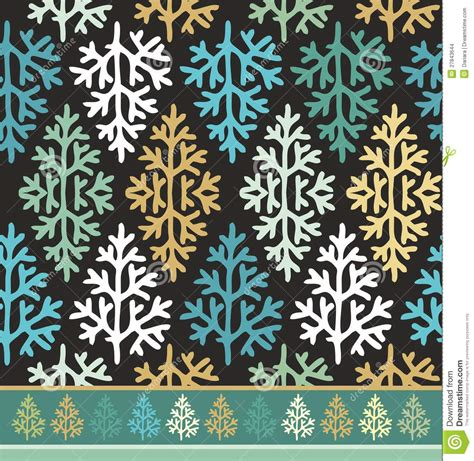 christmas pattern border seamless border pattern with christmas trees stock images