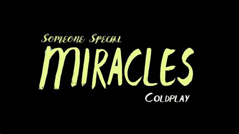 coldplay miracles someone special lyrics miracles someone special coldplay orchestra cover